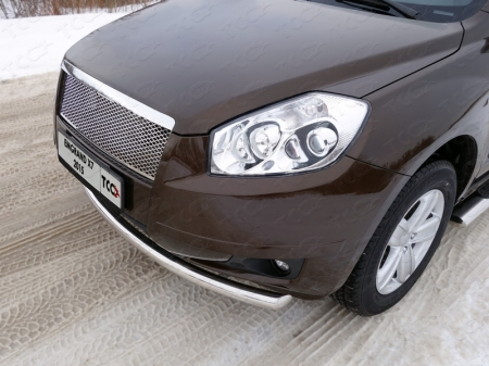 Geely Emgrand X7 2015- Защита передняя нижняя 60,3 мм